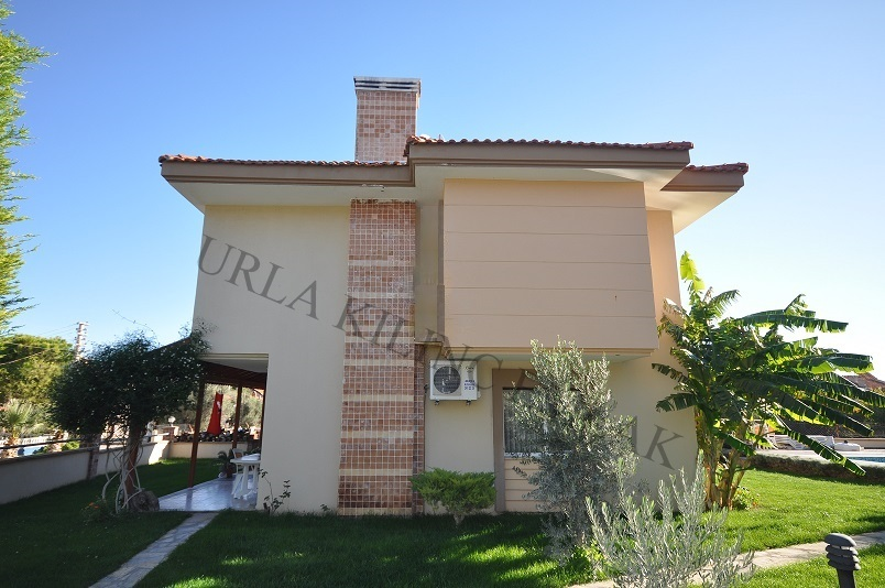 Urla Cesmealti 3+1 110 m2 satilik Villa # ilan no: 1417
